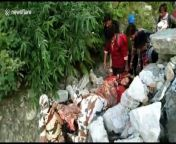 Personnel of the Indo-Tibetan Border Police (ITBP), rescued an injured woman from a remote village in northern India.<br/><br/>A group of 25 ITBP men carried her on a stretcher from her village in Pithoragarh district and shifted her to a hospital walking 40km over 15 hours, trekking across flooded mountains. <br/><br/>The woman fell and broke her legs on August 20. She hails from a remote village Laspa of Munsiyari division.<br/><br/>On receiving information, the ITBP personnel went to the village from their border outpost to rescue the woman whose condition was worsening every passing day due to lack of treatment. <br/><br/>The ITBP personnel reached the village, 22 km from their base in Milam, on August 22 covering most of the stretch on foot, before making the further 40km journey and evacuating the woman to a hospital safely.