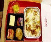 South Korean airline Jeju Air serves in-flight meals on land
