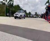 Prime Minister Tan Sri Muhyiddin Yassin arrives at Istana Negara for an audience with the Yang di-Pertuan Agong in Kuala Lumpur August 16, 2021. — Video by Emmanuel Santa Maria Chin