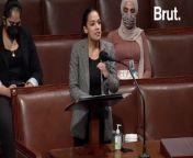 Rep. Alexandria Ocasio-Cortez called out Congress' move to increase defense spending in this speech ...