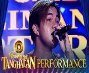 TNT quarter finalist Psalm Manalo sings \