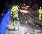 Giant transporters remove M53 bridge<br/>
