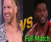 AEW - Full MatchWWE Live- WWE Raw highlights - WWE SmackDown highlights- WWE Smack downs highlights - WWE nxt highlights- Aew dynamite highlightstrading