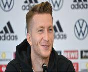 Marco Reus will auch in der Nationalmannschaft wieder angreifen und freut sich auf die Premiere des neuen Bundestrainers Hansi Flick am Donnerstag gegen Liechtenstein. Auf der Pressekonferenz vor dem Spiel verriet der Dortmunder, was bei ihm diese Saison anders ist.