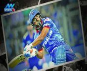 Pant became captain after Virat Kohli's announcement