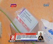 Nagbebenta umano ng overpriced at hindi rehistradong Tocilizumab ang tatlong inarestong suspek sa Quezon City. Kabilang sa kanila ang pulis-Tarlac na nagsilbi umanong bantay sa transaksyon.<br/><br/>Nakatutok si John Consulta. Eksklusibo!<br/><br/>24 Oras is GMA Network's flagship newscast, anchored by Mike Enriquez, Mel Tiangco and Vicky Morales. It airs on GMA-7 Mondays to Fridays at 6:30 PM (PHL Time) and on weekends at 6:00 PM. For more videos from 24 Oras, visit http://www.gmanetwork.com/24oras. News updates on COVID-19 (coronavirus disease 2019) and the COVID-19 vaccine: https://www.gmanetwork.com/news/covid-19/<br/><br/>Breaking news and stories from the Philippines and abroad:<br/>GMA News and Public Affairs Portal: http://www.gmanews.tv<br/>Facebook: http://www.facebook.com/gmanews<br/>Twitter: http://www.twitter.com/gmanews<br/>Instagram: http://www.instagram.com/gmanews<br/><br/>GMA Network Kapuso programs on GMA Pinoy TV: https://gmapinoytv.com/subscribe